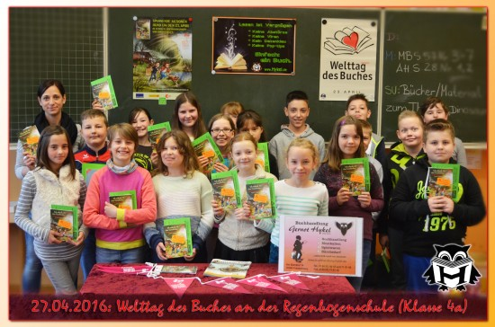27.04.2016 Regenbogenschule - Klasse 4a